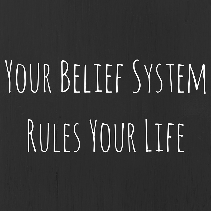Your belief system rules your life – Part 2