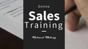 Entrepreneurial Sales Training Richard Mulvey