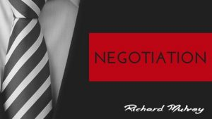 Negotiation Richard Mulvey