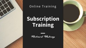 Online Subscription Training Option Richard Mulvey