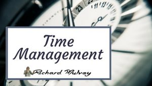 Time Management Online Training Richard Mulvey