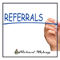 Referrals sales training Richard Mulvey